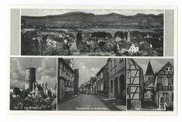 Muffendorf Bonn Totalansicht Bodesburg Hauptstraße Alte Kirche Postkarte - Bonn