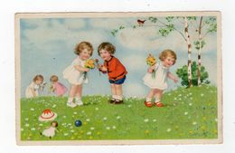 Juin20   88447   Groupe De Fillettes - Cartoline Umoristiche