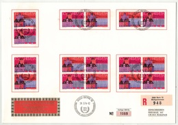 Suisse // Schweiz // Switzerland //  1970-1979 // Lettre Recommandée Philmail  UPU Se Tenant - Briefe U. Dokumente