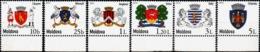 """Moldova 2015 """"Coats Of Arms Of The Cities Of Moldova (I)"""" 6v Quality:100% - Moldavië"""