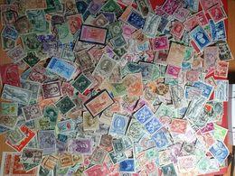 Superlot Van Enkele Honderden Oude Belgische Postzegels - Belgique