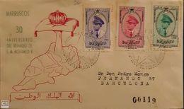 Carta. Marruecos. - Maroc Espagnol