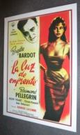 Carte Postale : Brigitte Bardot (film Cinéma Affiche) La Luz De Enfrente (La Lumière D'en Face) - Plakate Auf Karten