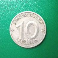 10 Pfennig Münze Aus Der DDR Von 1949 (sehr Schön) - [ 6] 1949-1990 : RDA - Rep. Dem. Alemana