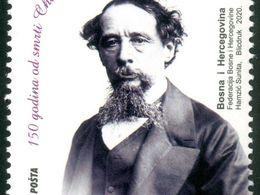 2020 The 150th Anniversary Of Death Of Charles Dickens, Bosnia And Herzegovina, MNH - Bosnia Herzegovina