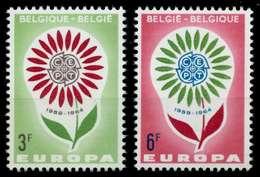 BELGIEN 1964 Nr 1358-1359 Postfrisch S04241E - Bélgica