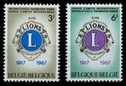 BELGIEN Nr 1461-1462 Postfrisch S049DD2 - Bélgica