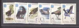 Ru2  -   Russie  :  Yv  4913-18  **    Oiseau  Bird - Neufs