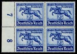 3. REICH 1940 Nr 746 Postfrisch VIERERBLOCK X77D5DA - Germany