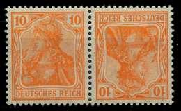 D-REICH ZUSAMMENDRUCK Nr K1 Postfrisch WAAGR PAAR X792662 - Se-Tenant