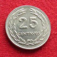 El Salvador 25 Centavos 1973  Wºº - El Salvador