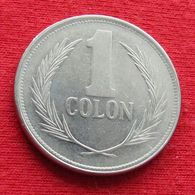 El Salvador 1 Colon 1988  Wºº - El Salvador