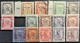 HUNGARY 1915 - MLH/canceled  - Sc# B35-B40, B42-B45, B47-B51 - Hongrie