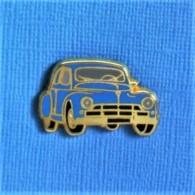 1 PIN'S //  ** PEUGEOT 203 ** . (Ballard Doré à L'OR FIN) - Peugeot