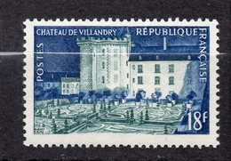 1954--Chateau De Villandry-37 - NEUF--n°995.... -cote  6 € ...........à Saisir - France