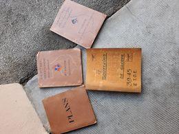 Lot De 4 Dossiers  Manuscrits  Dactylographiés Authentiques 9 DIC En COCHINCHINE Et SUD ANNAM Période 1945/1950 - Documents