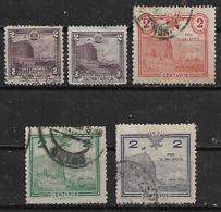 1924-6 Peru Pro-tacna Y Arica 5v . - Perú