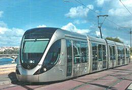 TRAM * TRAMWAY * RAIL * RAILWAY * RAILROAD * ALSTOM CITADIS * RABAT MOROCCO MOROCCAN * BRIDGE * Top Card 6003 * Hungary - Tramways