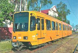 TRAM RAIL RAILWAY RAILROAD * TW 6000 HANNOVER TRAMWAY GERMANY GERMAN BKV ULLOI STREET BUDAPEST * Top Card 6004 * Hungary - Tramways