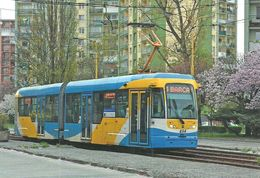 TRAM * TRAMWAY * RAIL RAILWAY RAILROAD * VARIO LF DPMK * KASSA KOSICE BARCA * SLOVAKIA SLOVAK * Top Card 6005 * Hungary - Tramways