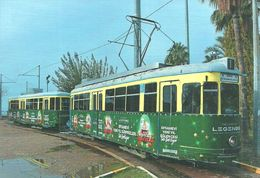 TRAM * TRAMWAY * RAIL RAILWAY RAILROAD * DUEWAG * ANTALYA TURKEY TURKISH * MUSEUM END STATION * Top Card 6011 * Hungary - Tramways
