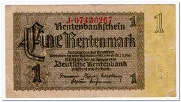 GERMANY,1 MARK,1937,P.173,VF+ - Otros