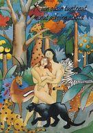 Postal Stationery - Adam & Eva In Eden Paradise - Red Cross 1994 - Suomi Finland - Postage Paid - First Day - Postwaardestukken