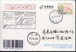 CHINA CHINE CINA POSTCARD GUANGDONG  HUIZHOU  TO JILIN CHANGCHUN  WITH ANTI COVID-19 INFORMATION - China