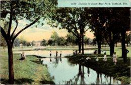 Wisconsin Oshkosh Lagoon In South Side Park - Oshkosh