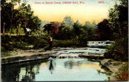 Wisconsin Green Bay Scene On Baird's Creek - Green Bay