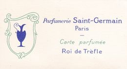 Carte Parfumée , PARFUMERIE SAINT-GERMAIN à PARIS - Parfumkaarten