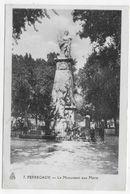 PERREGAUX - MOHAMMADIA - LE MONUMENT AUX MORTS - GUERRE - FORMAT CPA NON VOYAGEE - Algérie