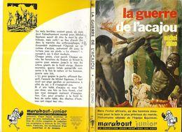 LA GUERRE DE L ACAJOU DE MICHEL DUINO, ILLUSTRATIONS ATTANASIO ET JOUBERT, EDITION ORIGINALE MARABOUT JUNIOR 1959 - Marabout Junior