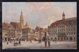 Coburg Markt Mit Rathaus - Sin Clasificación