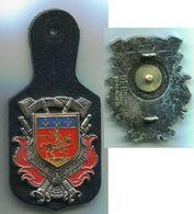SP153A INSIGNE SAPEURS POMPIERS COGNAC 16 - Firemen