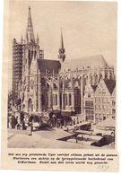 Orig. Knipsel Coupure Magazine Tijdschrift - Heropbouw St Martinus Kathedraal Te Ieper  - 1931 - Oude Documenten