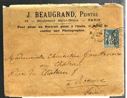 33118 - J. BEAUGRAND  PEINTRE - 1877-1920: Période Semi Moderne