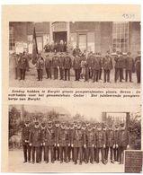 Orig. Knipsel Coupure Magazine Tijdschrift - Burcht - Brandweer - Grote Pompierfeesten  - 1931 - Vieux Papiers
