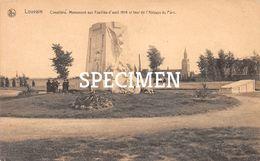 Cimetière  Monument Aux Fusillés  1904 Et Tour De L'Abbaye Du Parc - Leuven -  Louvain - Leuven