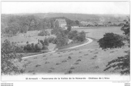 SAINT ARNOULT EN YVELINES PANORAMA DE LA VALLEE DE LA REMARDE CHATEAU DE L'ALEU TBE - St. Arnoult En Yvelines