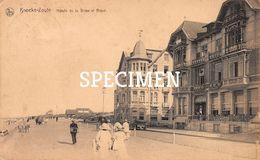 Hôtels De La Brise Et Royal - Knocke - Knokke - Knokke