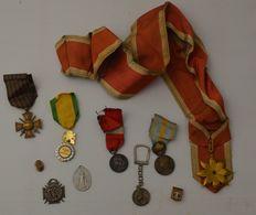 Lot De Médailles, Distinctions, Insignes Diverses - Militari