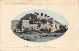 20-8242 : BLAYE. LES REMPARTS - Blaye