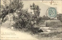 Cp Grenoble Isère, Ruisseau Aux Balmes De Fontaine - France