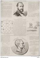 Henri Vieuxtemps, Violoniste - Page Original - 1863 - Historical Documents