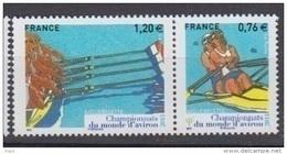 2015-N°4973/4974** CHAMPIONNAT DU MONDE D'AVIRON - France