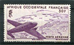 AFRIQUE OCCIDENTALE FRANCAISE  N°  12 *  PA  (Y&T)  (Charnière) - Neufs