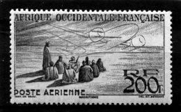AFRIQUE OCCIDENTALE FRANCAISE  N°  14 *  PA  (Y&T)  (Charnière) - Neufs