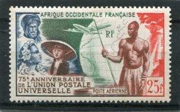 AFRIQUE OCCIDENTALE FRANCAISE  N°  15 *  PA  (Y&T)  (Charnière) - Neufs