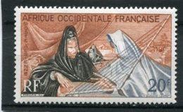 AFRIQUE OCCIDENTALE FRANCAISE  N°  28 *  PA  (Y&T)  (Charnière) - Neufs